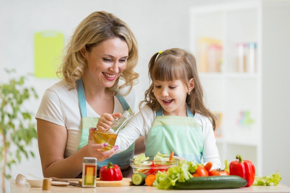 Топ полезных продуктов питания для здоровья детей