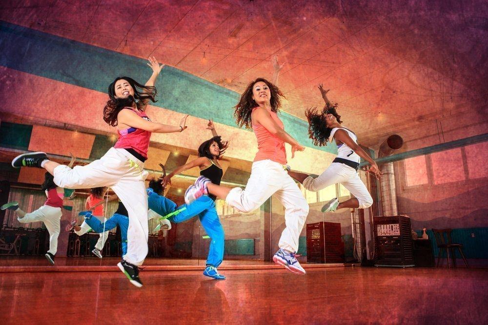 Классическая танцевальная аэробика и фитнес