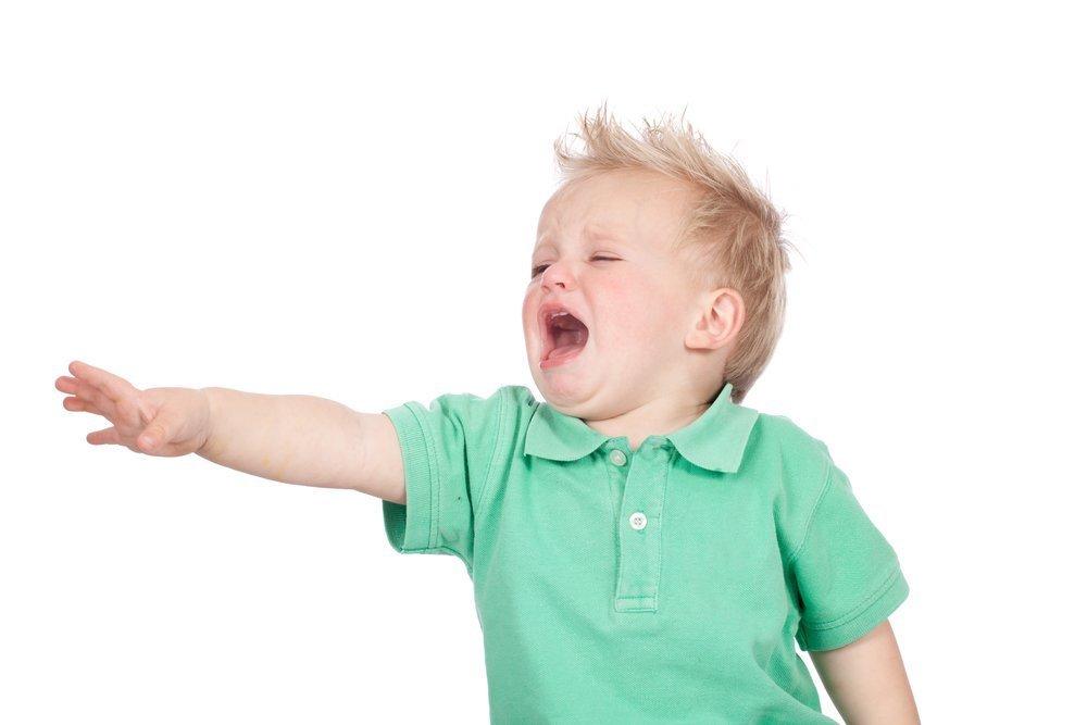 Развитие ребенка: причины истерик у малышей