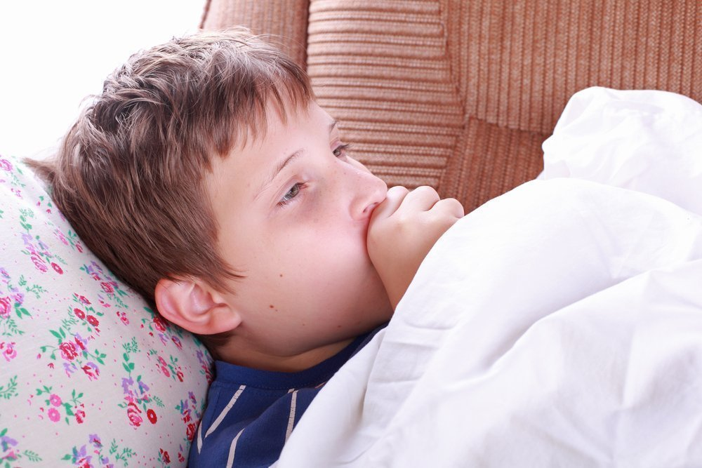 Если дети заболели ларингитом