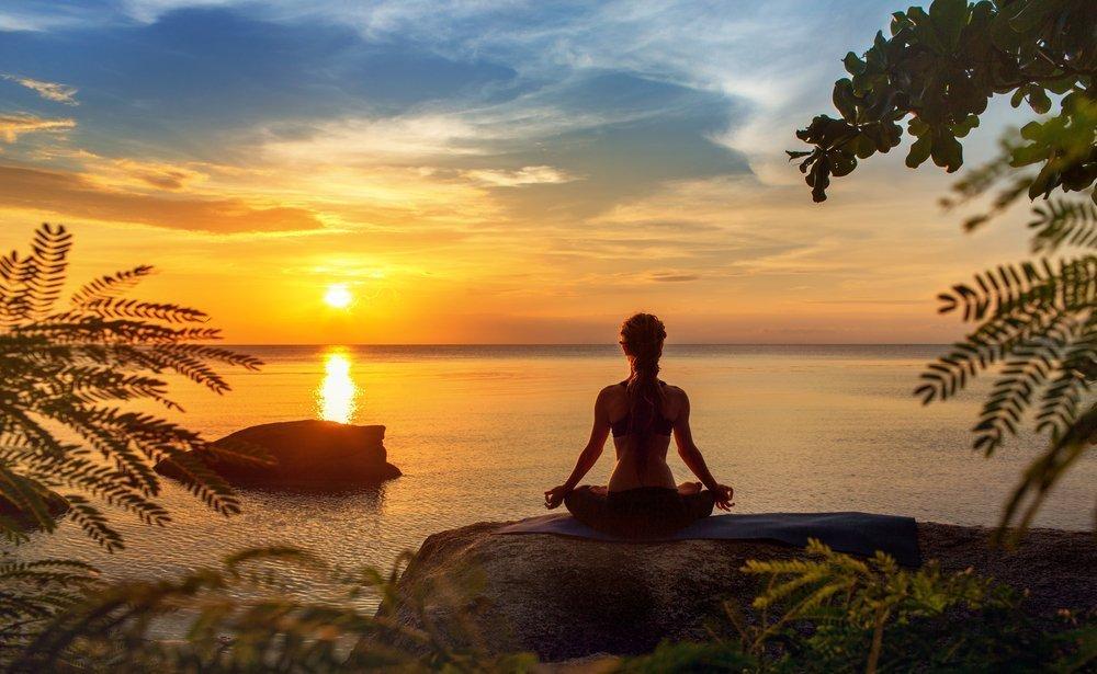 Медитация во время прогулки
