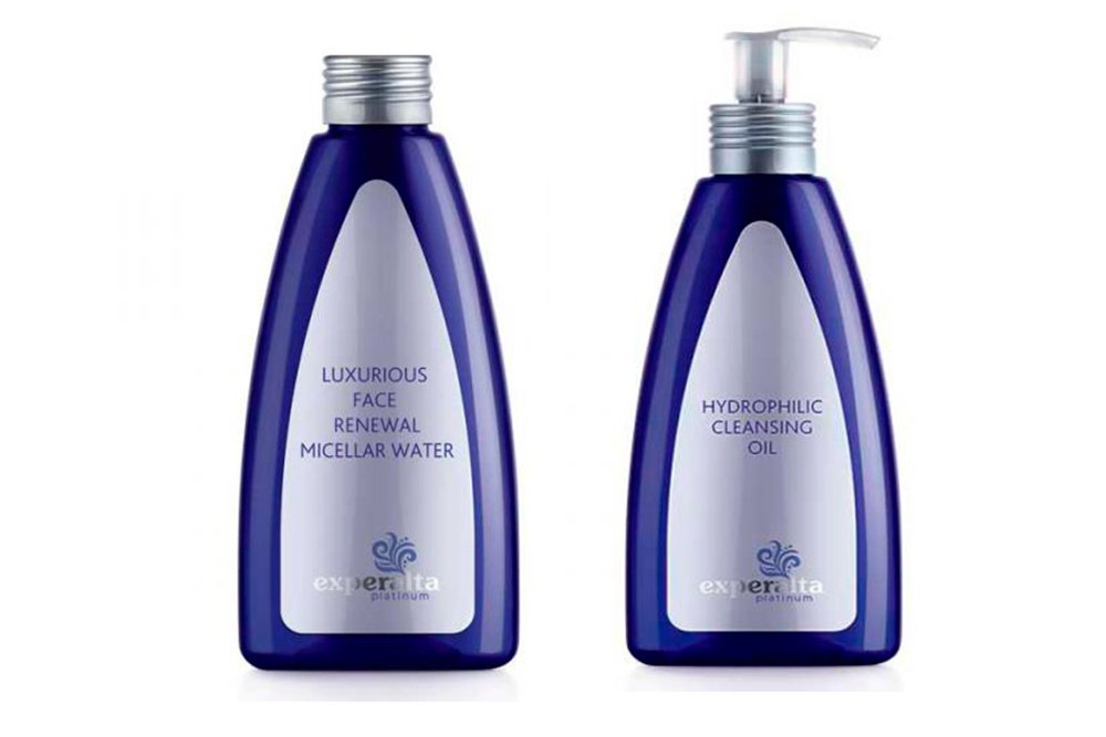 Experalta Platinum Мицеллярная вода для снятия макияжа, Experalta Platinum Очищающее масло для умывания