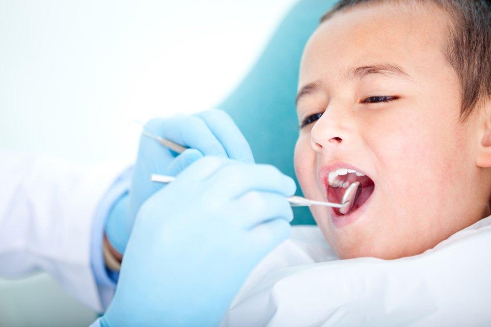 Полный скол зубов у детей