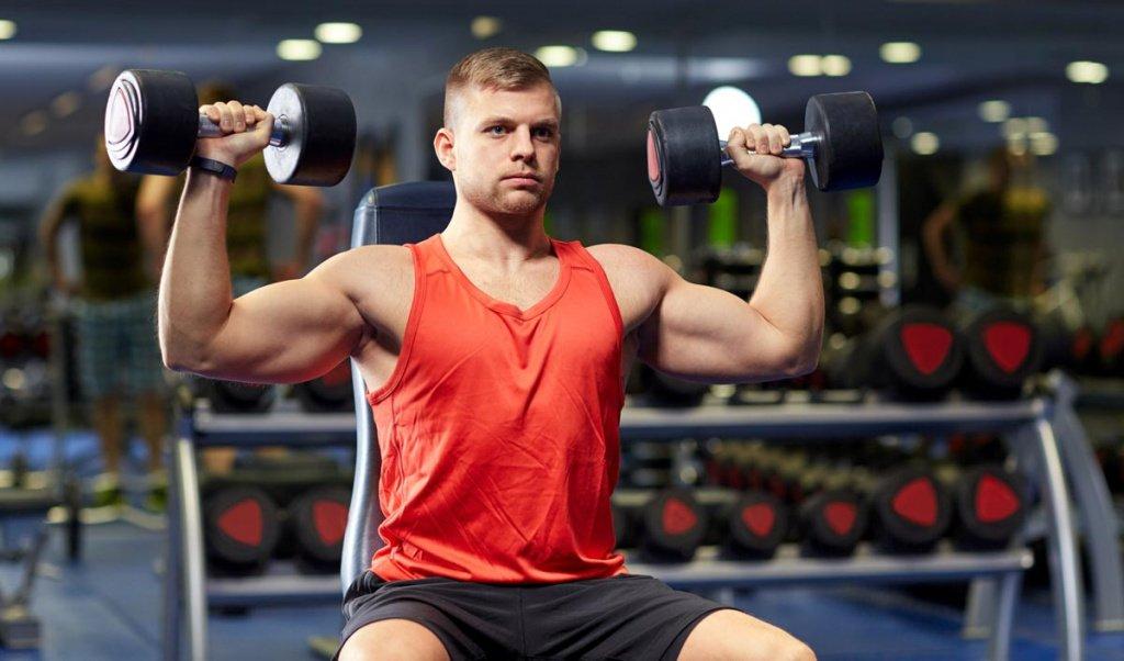 Эффективные упражнения для средних дельтовидных мышц