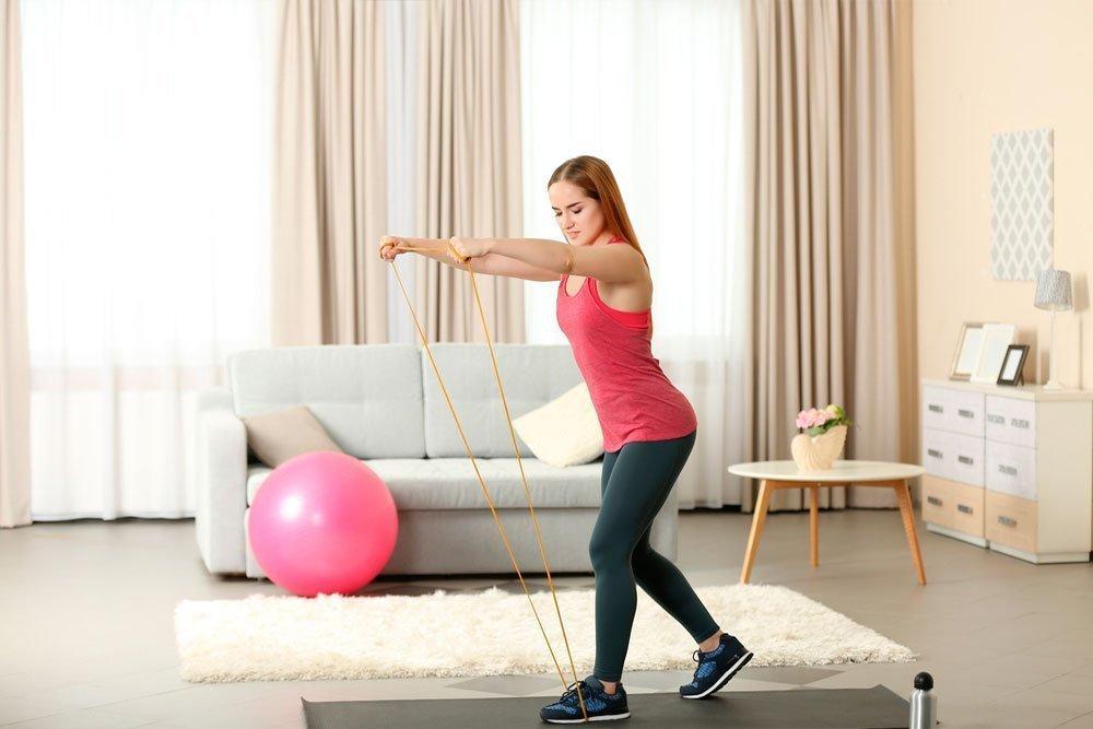 Фитнес-упражнения для основных мышц тела