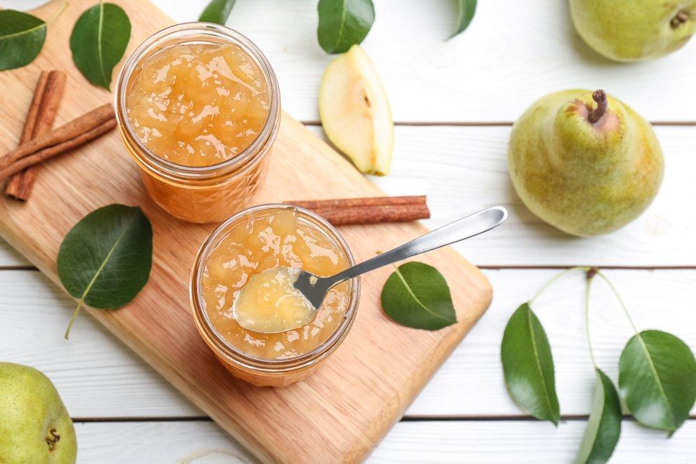 Заготовки из груш с лимоном и апельсином