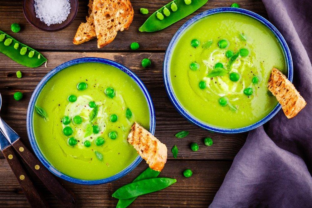 Как готовить гороховый суп-пюре?