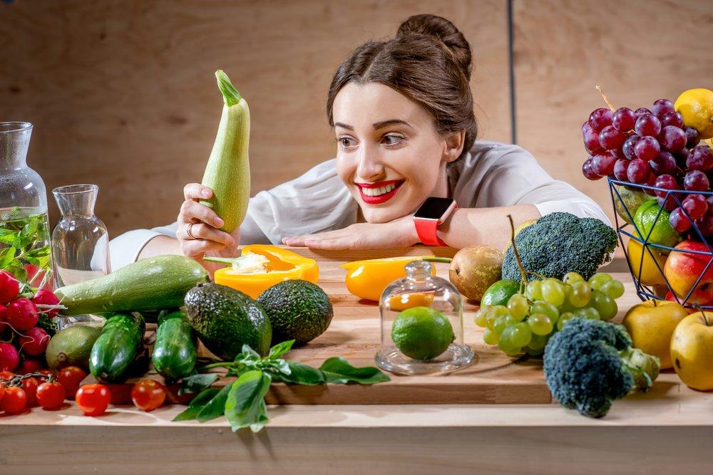 Держите в поле зрения здоровые продукты
