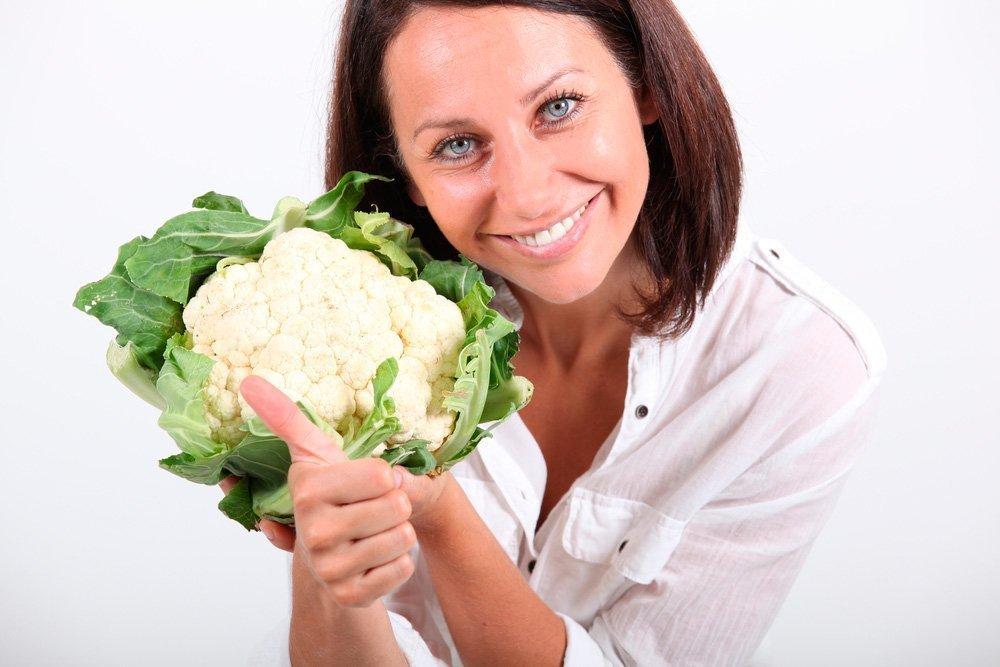 Похудение с цветной капустой