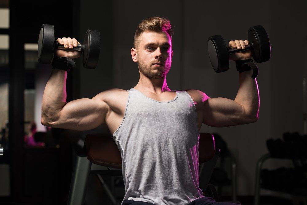 Особенности фитнес-тренировок для развития мускулатуры плеч