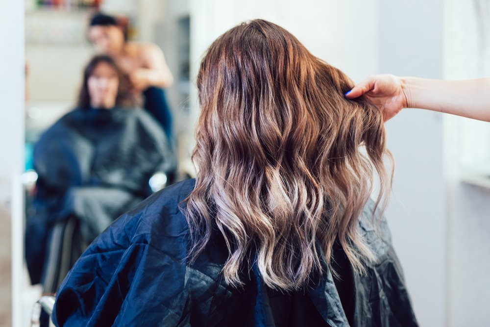 Контуринг волос