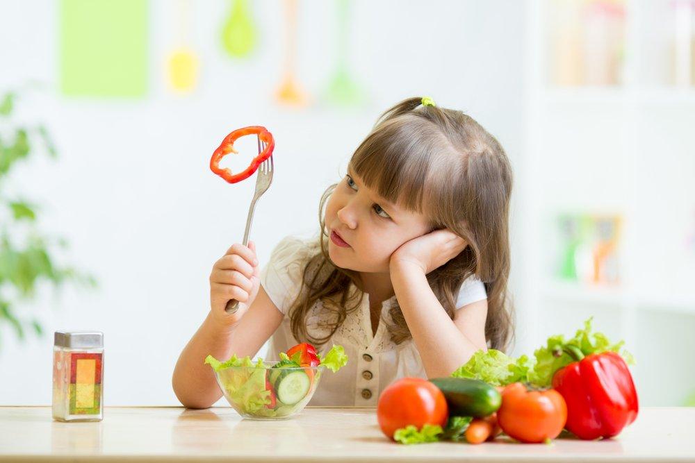 Почему дети часто отказываются от овощей?