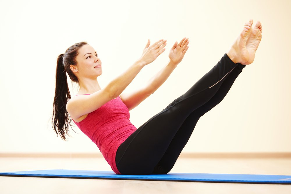 Упражнения для женщин в период месячных