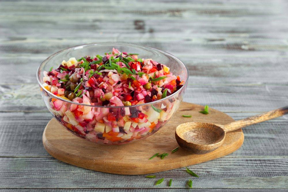 Классический и другие рецепты овощного салата