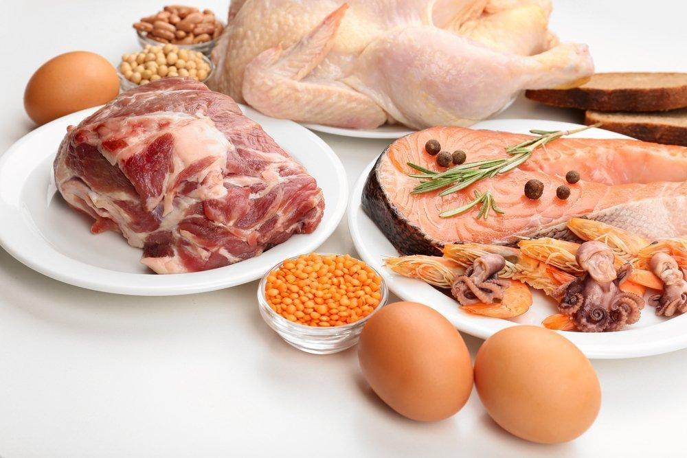 Высокобелковая диета для сохранения мышечной массы
