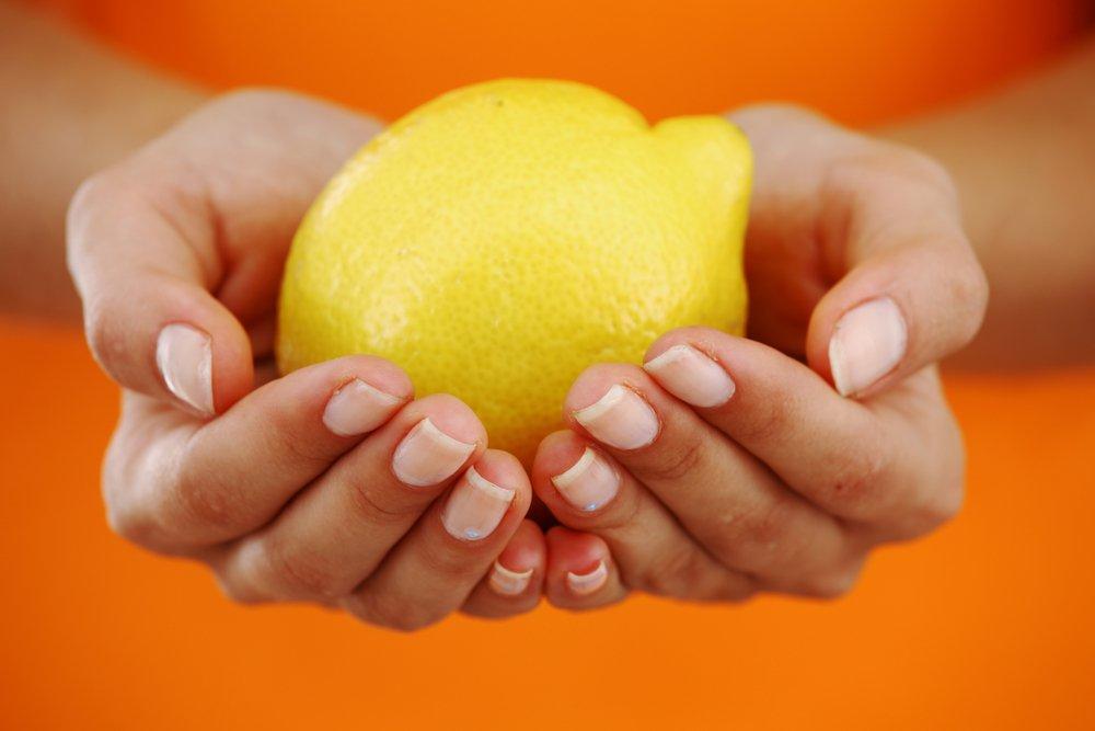 Масло и лимон для роста ногтей