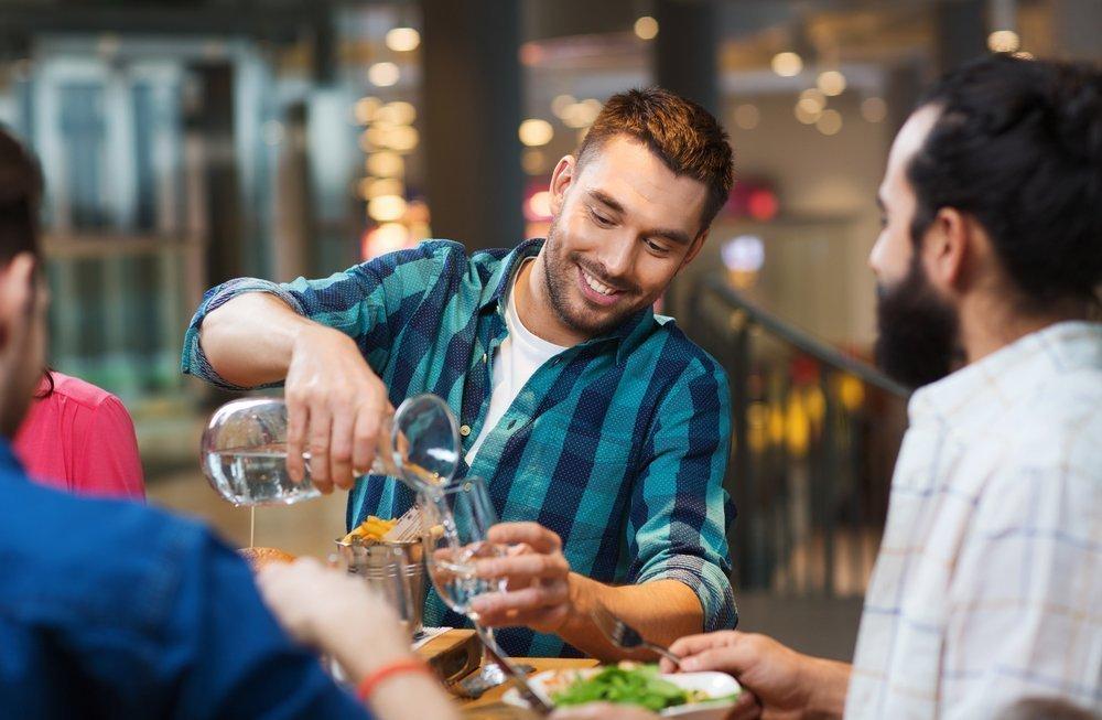 Придерживайтесь правила безопасного приема алкоголя