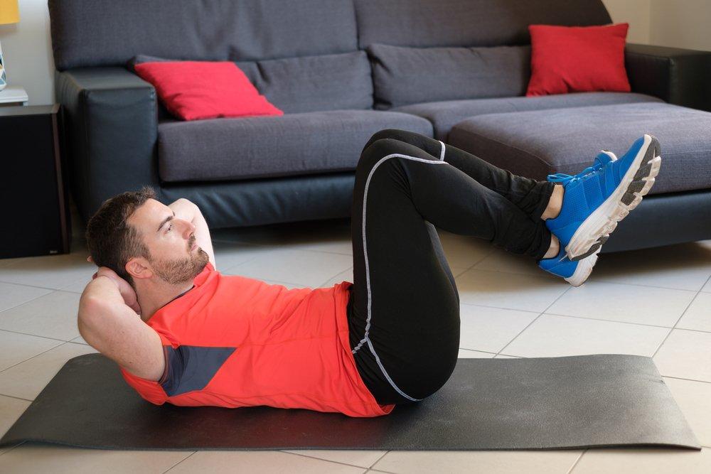 Комплекс жиросжигающих упражнений для живота и боков