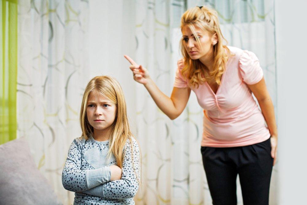 Причины гнева родителей