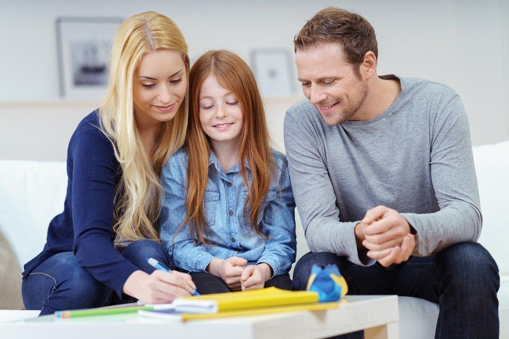 Привычка читать и обсуждать с родителями прочитанное