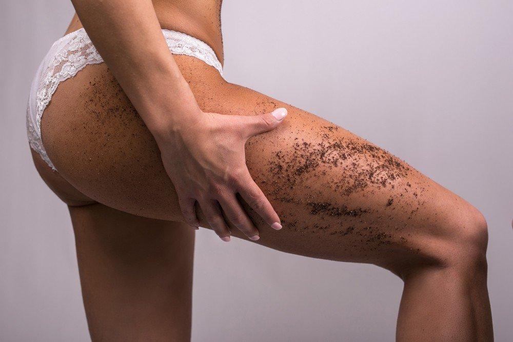 Предварительное отшелушивание кожи