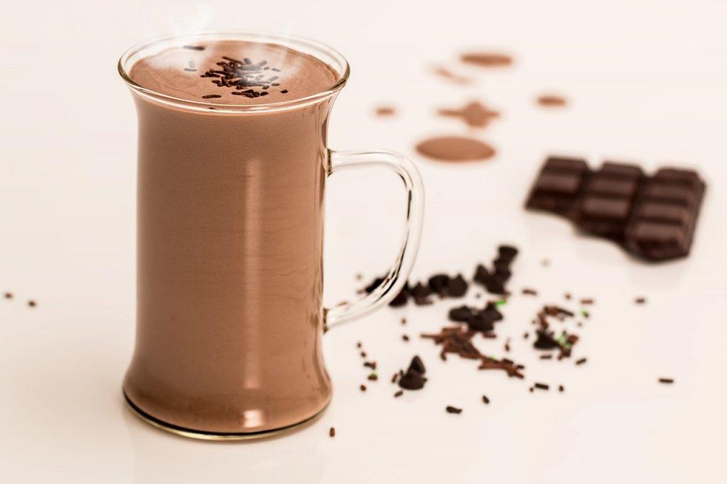 11. Горячий шоколад