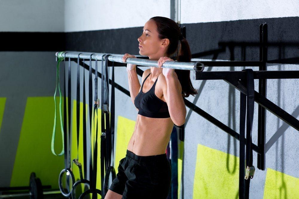 Упражнения для спины в фитнес-центре
