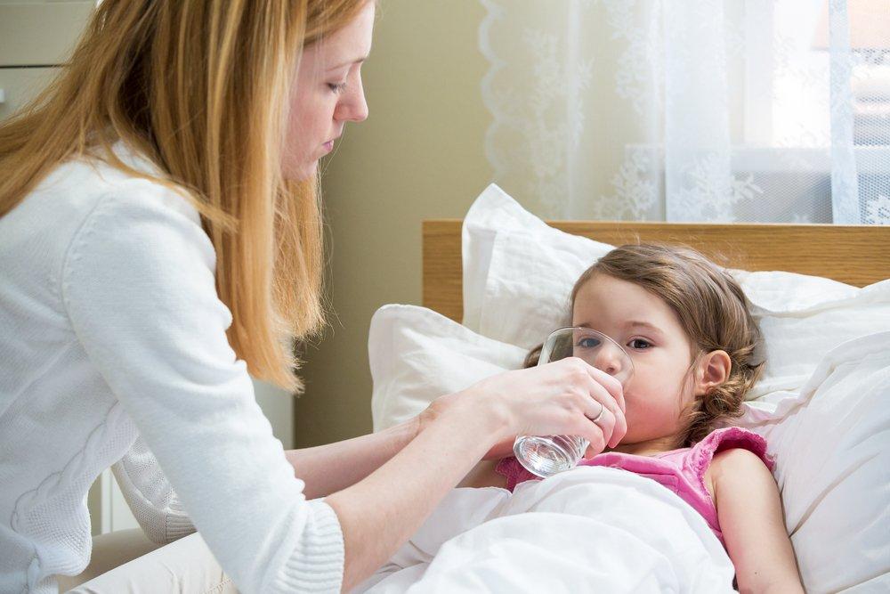 Основные причины обезвоживания у детей
