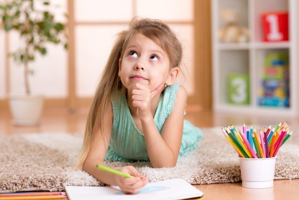 Психика ребенка и выбор цвета