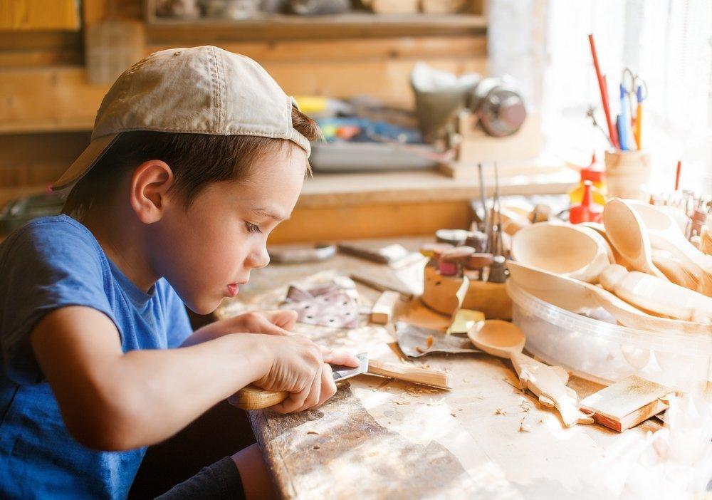 Нож ребенку не игрушка… а полезный инструмент!