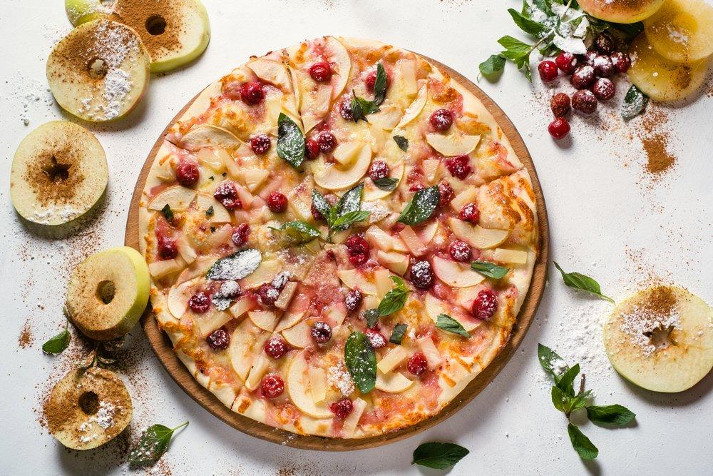 Яблочная пицца для приверженцев ЗОЖ