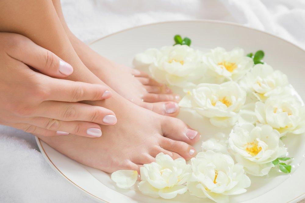 3. Поддерживайте чистоту ног