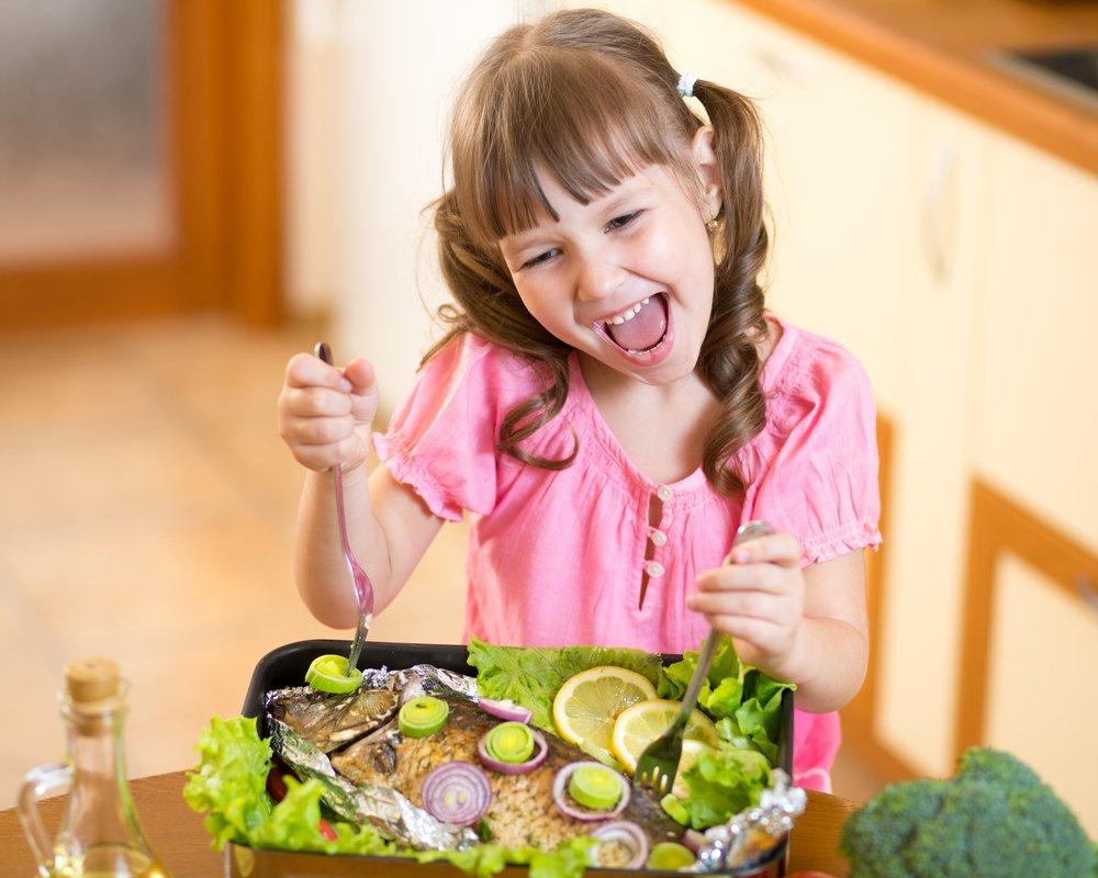 Йод и питание ребенка
