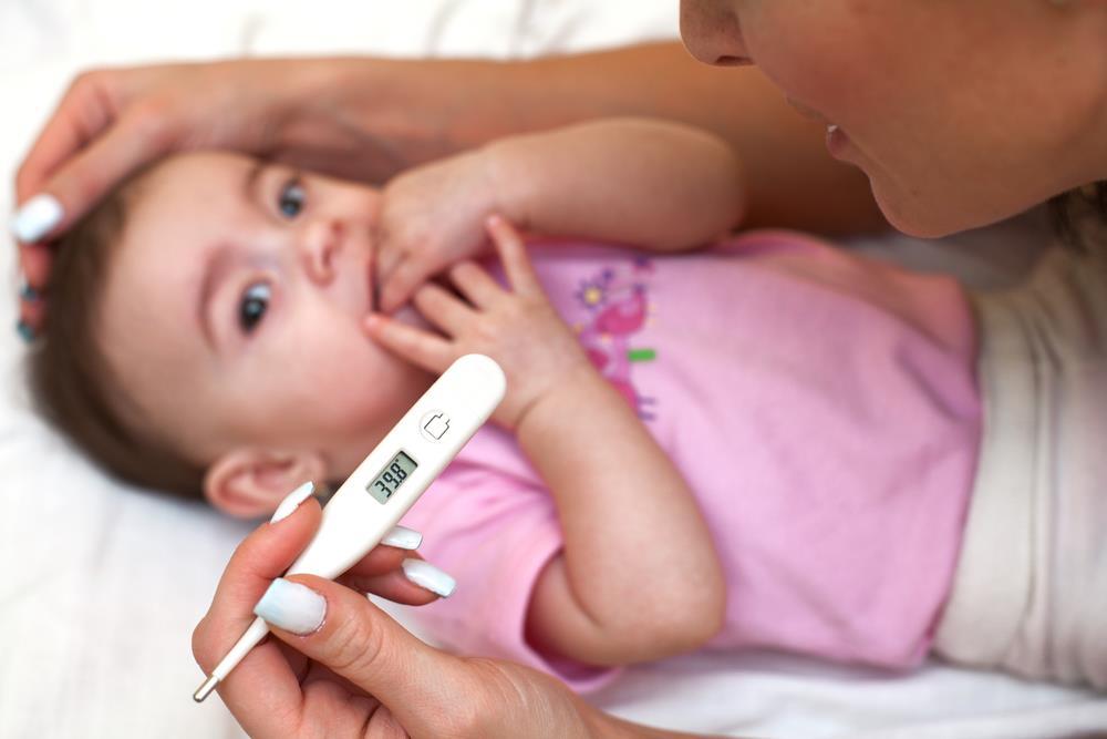 Температура у ребенка при ОРВИ