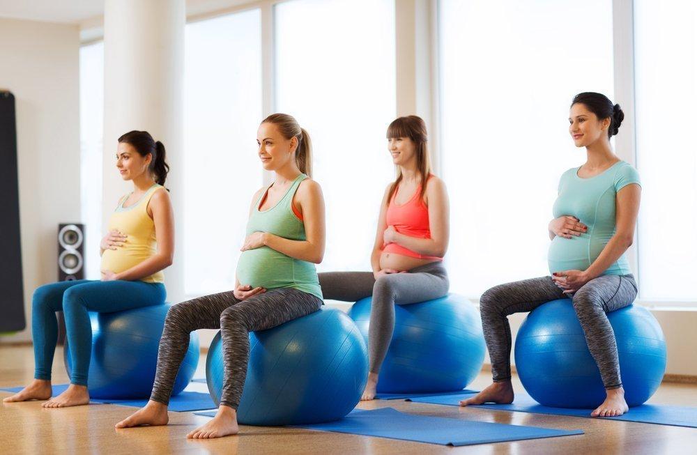 Физическая нагрузка во время беременности