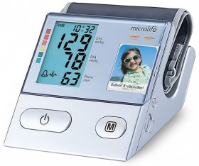 Microlife BP A100 (автоматический тонометр с определением аритмии).