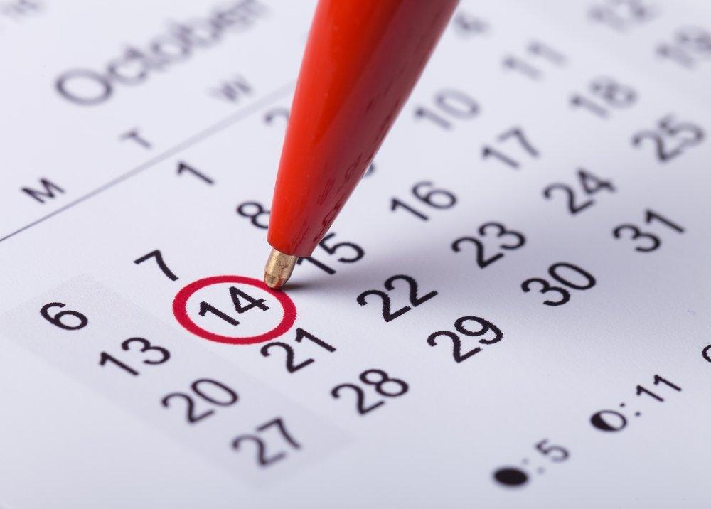 Расчет по менструальному циклу и календарикам