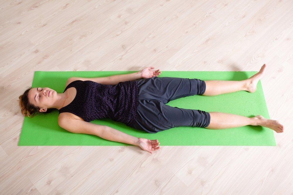 Упражнение для похудения «Волна»