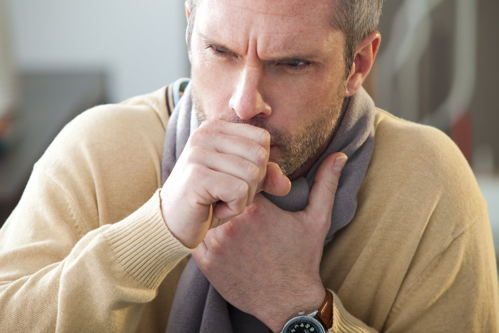 Один из симптомов пневмонии