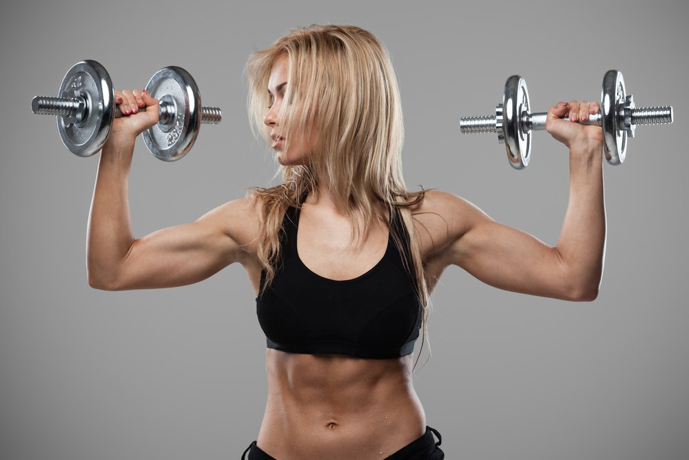 Комплекс упражнений для плеч