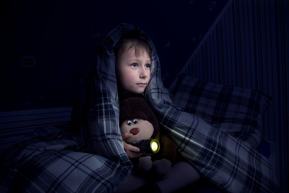 Наиболее распространенные детские страхи