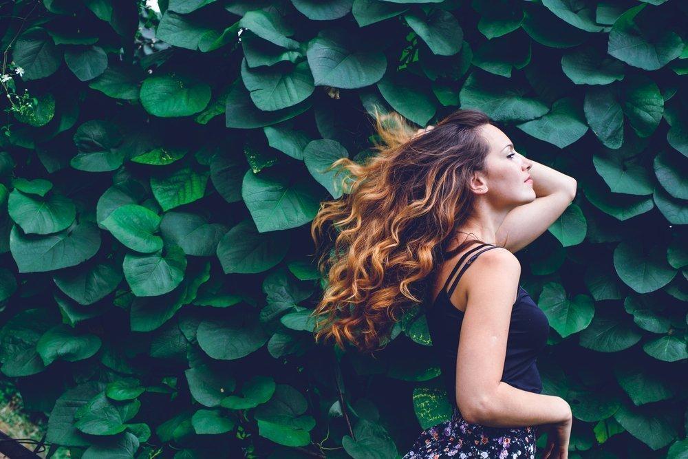 Изменение цвета волос в зависимости от длины