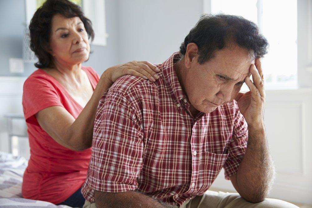 Поражение головного мозга при болезни Альцгеймера