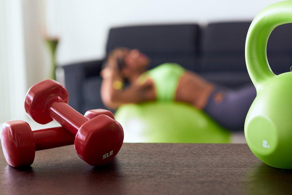 Лучшие снаряды для домашних фитнес-тренировок