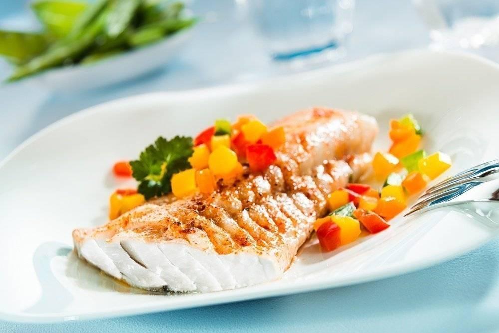 Рыбная диета во время занятий фитнесом