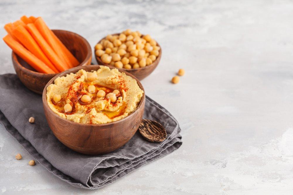 Необычные виды хумуса — с овощами и не только
