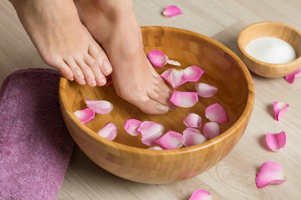 Рецепты ванночек для ног: профилактика болезней