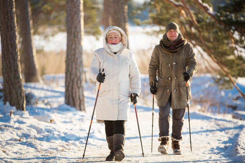 Правила скандинавской ходьбы с палками