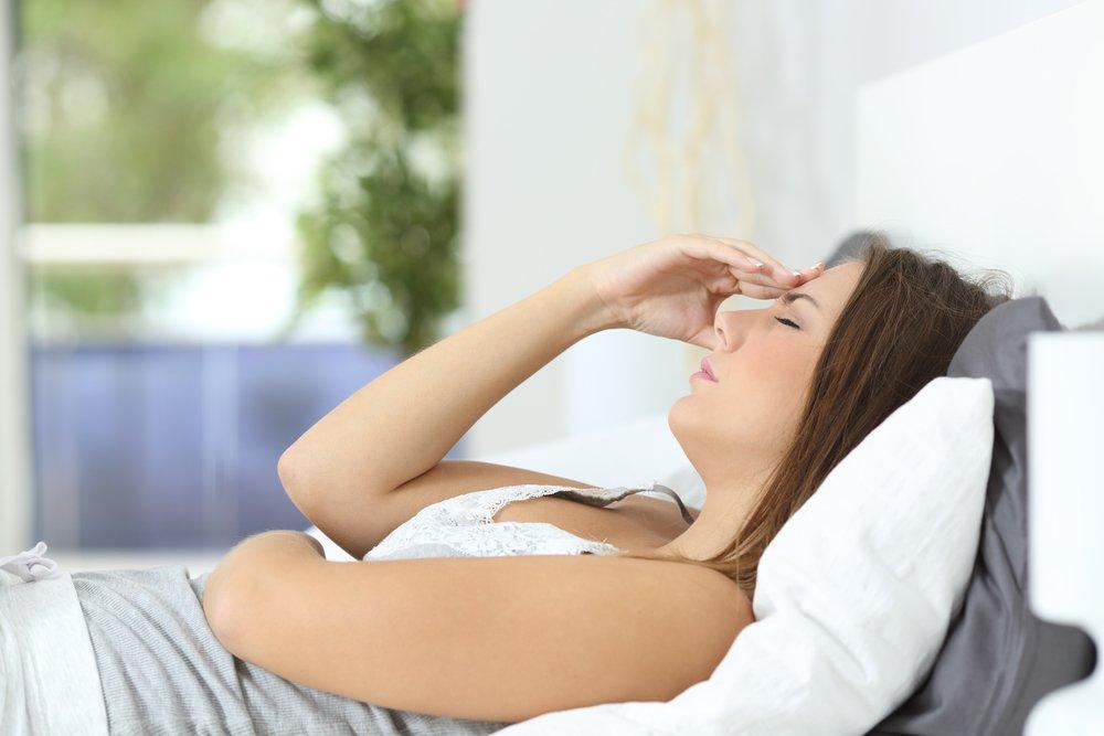 8. Сильная слабость и усталость
