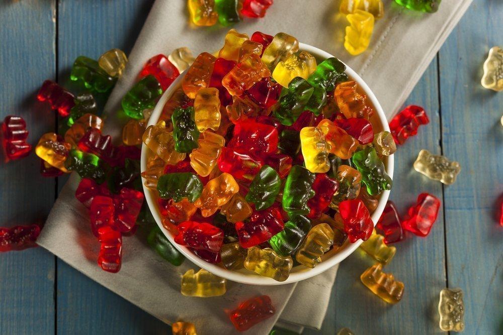 Желейные конфеты из ягод